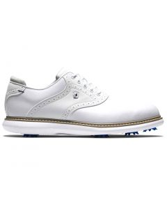 Footjoy Traditions Golf Shoes White White Profile