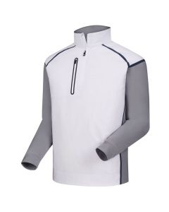 FootJoy Wind Tech Pullover White/Grey