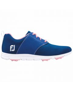 FootJoy Women's enJoy Golf Shoes Blue/Pink