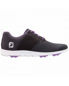 FootJoy Women's enJoy Golf Shoes Charcoal/Violet