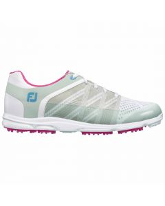 FootJoy Women's Sport SL Golf Shoes White/Light Grey
