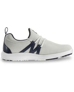 FootJoy Women's FJ Leisure Slip-On Golf Shoes Sand/Navy