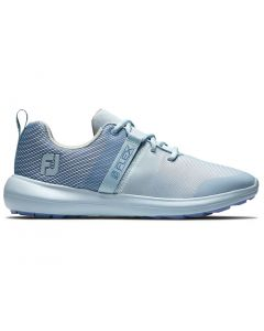 Footjoy Womens Flex Golf Shoes Blue Profile
