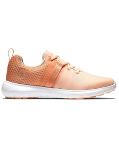 Footjoy Womens Flex Golf Shoes Peach Profile
