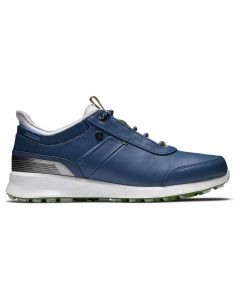 Footjoy Womens Stratos Golf Shoes Blue Profile