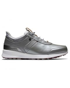 Footjoy Womens Stratos Golf Shoes Grey Profile