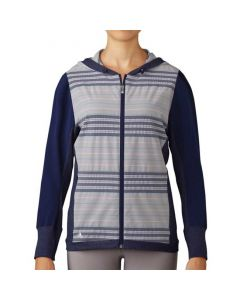 Adidas Women's Full-Zip Hoody Dark Blue