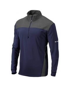 Golf Apaprel Columbia Omni Wick Standard Pullover Collegiate Navy