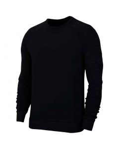 Golf Apaprel Dri Fit Player Crewneck Black