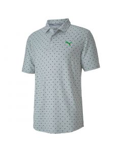 Golf Apaprel Puma Cloudspun Scatter Polo Greenery