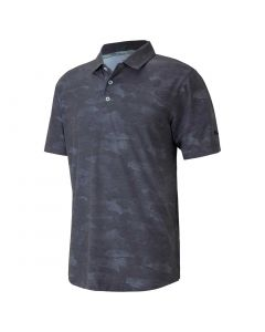 Golf Apaprel Puma Solarized Camo Polo Black