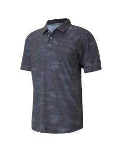 Golf Apaprel Puma Solarized Camo Polo Black