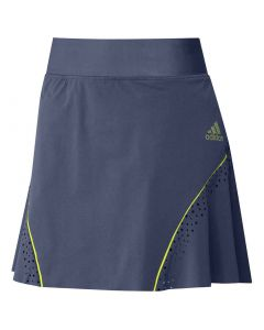 Golf Apparel Adidas Ss20 Womens Perforated Sport Skort Tech Indigo
