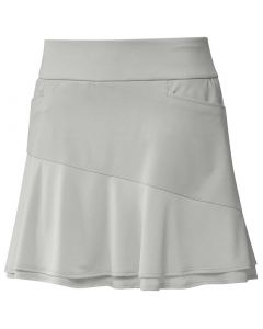 Golf Apparel Adidas Ss20 Womens Ultimate365 Knit Frill Skort Solid Grey
