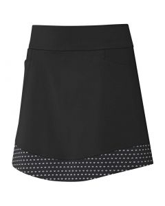 Golf Apparel Adidas Ss20 Womens Ultimate365 Printed Knit Skort Black