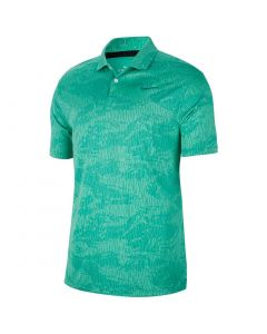 Golf Apparel Nike Dri Fit Vapor Camo Polo Neptune Green