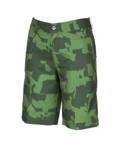Golf Apparel Puma Boys Union Camo Shorts Juniper