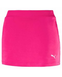 Golf Apparel Puma Girls Solid Knit Skort Fuchsia Purple