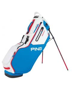 Golf Bag Ping Hoofer Stand Bag Blue White Scarlet