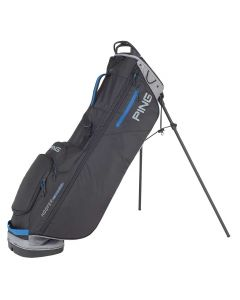 Golf Bag Ping Hoofer Craz E Lite Stand Bag Black Grey Blue