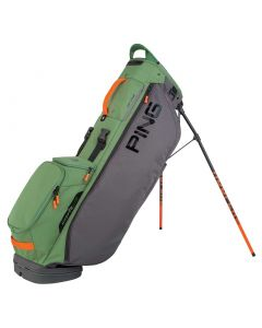 Golf Bag Ping Hoofer Lite Stand Bag Grey Olive Orange