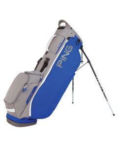 Golf Bag Ping Hoofer Lite Stand Bag Royal Silver White