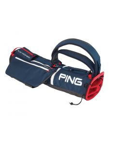 Golf Bag Ping Moonlite Carry Bag Navy White Scarlet