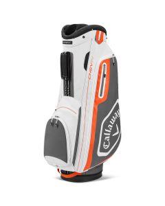 Golf Bags Callaway Chev Cart Bag White Charcoal Orange