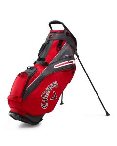 Golf Bags Callaway Fairway Stand Bag Red Charcoal White