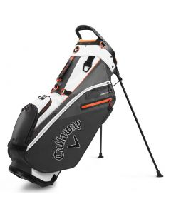Golf Bags Callaway Fairway Stand Bag White Charcoal Orange