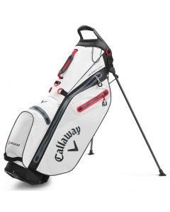 Golf Bags Callaway Hyperdry C Stand Bag White Black Red