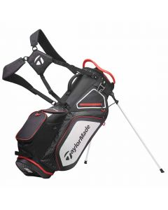 Golf Bags Taylormade Stand Bag Black White Red