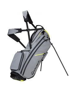 Golf Bags Taylormade Flextech Crossover Stand Bag Silver Neon