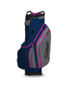 Golf Bags Titleist Cart Lightweight Cart Bag Navy Charcoal Magenta