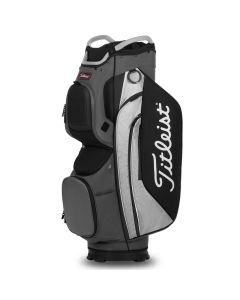 Golf Bags Titleist Cart 15 Cart Bag Charcoal Grey Black