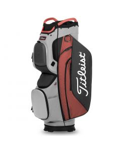 Golf Bags Titleist Cart Cart Bag Grey Island Red