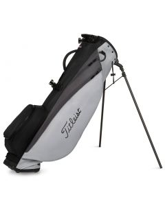 Golf Bags Titleist Players Carbon Stand Bag Charcoal Grey Black V2