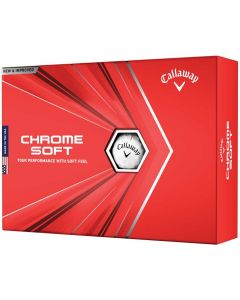 Golf Balls Callaway Chrome Soft White Golf Balls Box
