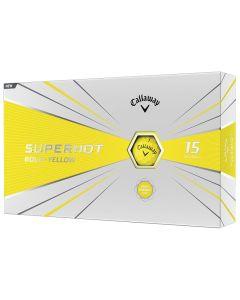 Golf Balls Callaway Superhot Bold Yellow Golf Balls Box
