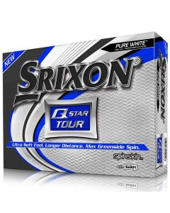 Golf Balls Srixon Q Star Tour 3 White Package