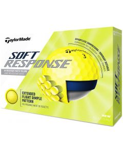 Golf Balls Taylormade Soft Response Golf Balls Yellow Box