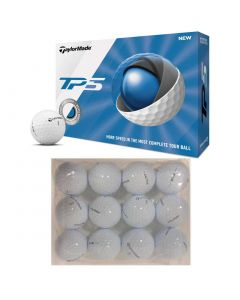 Golf Balls Taylormade Tp5 Bagged Practice Balls White