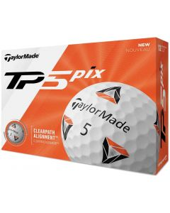 Golf Balls Taylormade Tp5 Pix 2 0 Golf Balls Box