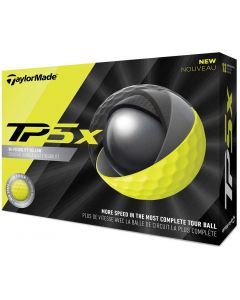Golf Balls Taylormade Tp5x Yellow Golf Balls Box