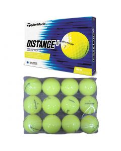 Golf Balls Taylormadedistance Plus Bagged Practice Balls Yellow