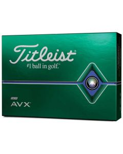 Golf Balls Titleist Avx White Box