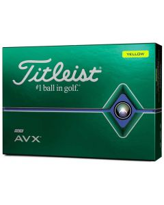 Golf Balls Titleist Avx Yellow Box