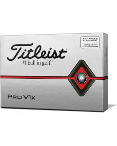 Golf Balls Titleist Pro V1x Enhanced Alignment Golf Balls