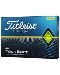 Golf Balls Titleist Tour Soft Yellow Box