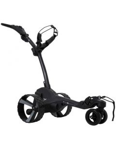 Golf Cart Mgi Zip Navigator Lithium Electric Golf Caddy Black Grey